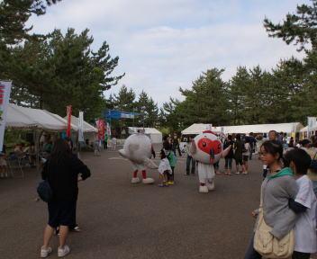 大潟かっぱ祭り メイン会場
