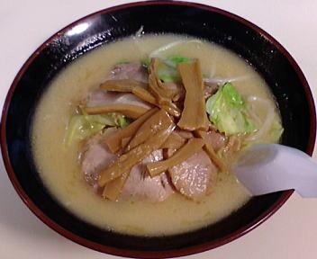 古潭 野菜味噌ラーメン+チャーシュー+メンマ