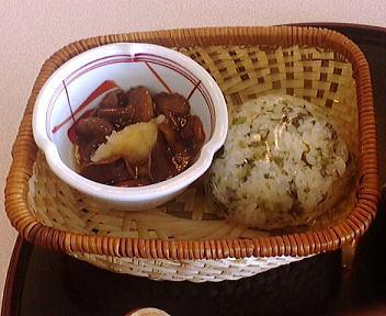 東北道国見SA下り 白石うー麺(定食)