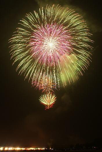 古都ひろさき花火の集い