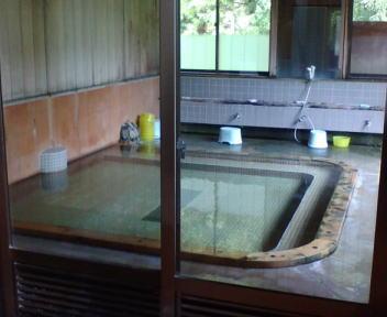木賊温泉 広瀬の湯 内湯
