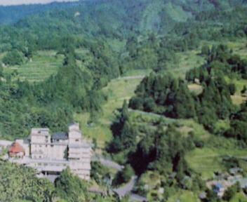 蓬平温泉 和泉屋 全景