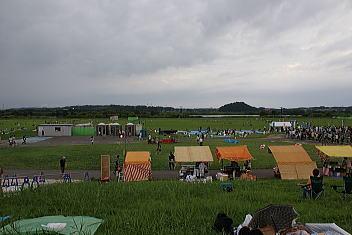 2009酒田花火ショー 会場到着