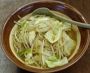 東横 野菜みそラーメン