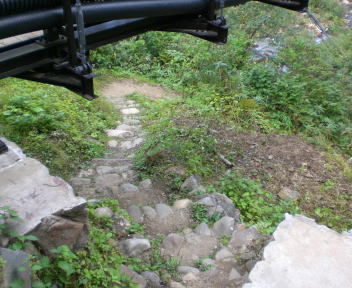 河原の湯 入口
