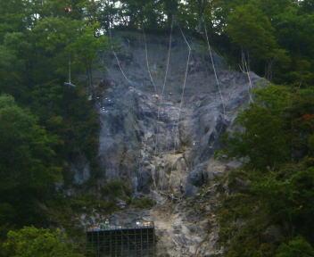 河原の湯 上部