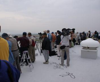 福島潟自然文化祭 ビュー福島潟屋上