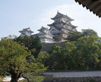 姫路城 菱の門内側より