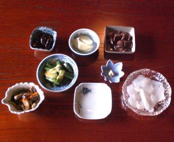 やま仙 季節1500コース 小鉢