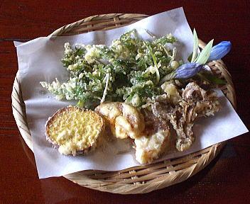 やま仙 季節1500コース 天ぷら