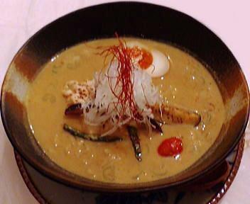 笑美寿亭 チキンカレー担々麺