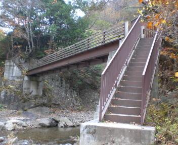 加仁湯 二ツ岩橋