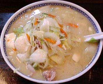 食堂ミサあらい道の駅 野菜ラーメン(味噌)