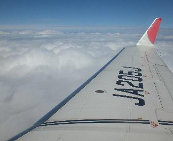 飛行機 新潟~名古屋