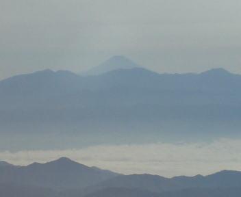 飛行機 新潟~名古屋 富士山