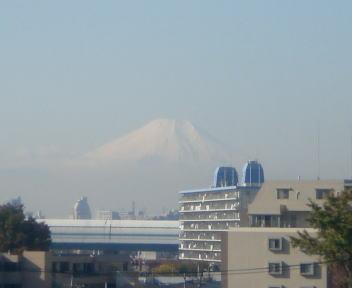 富士山 熊谷近くより