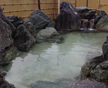 まほろば温泉 露天風呂