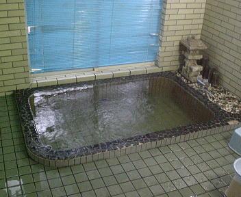 荷頃鉱泉 長生館 浴室