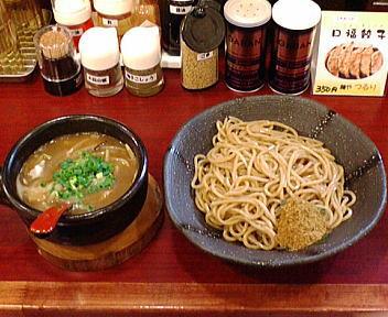 つるり新潟小千谷流 醤油つけ麺
