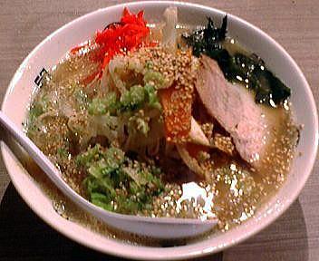 きんしゃい亭新潟駅前店 野菜ラーメン