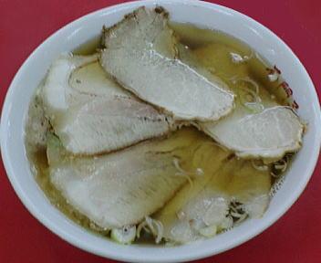 石門子(東掘) チャーシューワンタンメン(大盛)