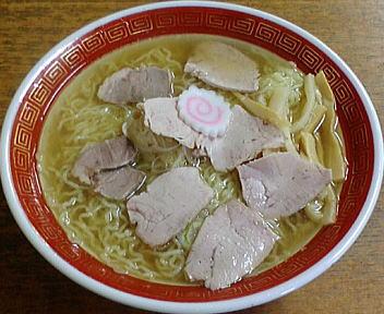 三吉屋 叉焼麺(大盛)