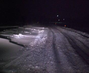 新潟の大雪2010 吹き溜まり