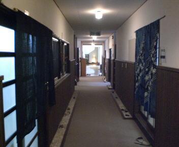 湯元館 廊下