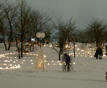 2010長岡雪しか祭り 雪あかり
