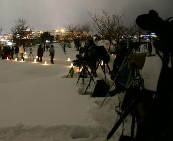 2010長岡雪しか祭り カメラマン