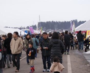 おぢや風船一揆 平沢会場