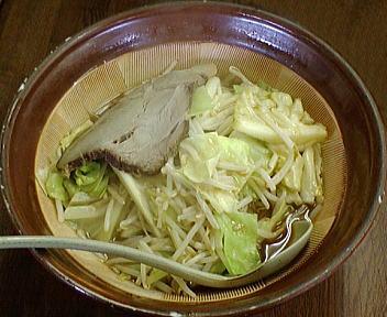 東駅南店 特製野菜みそラーメン(大盛)