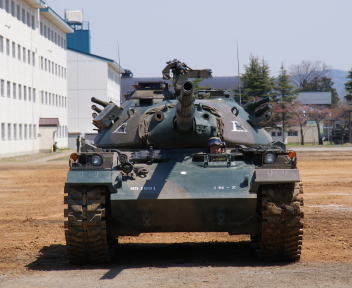 高田駐屯地記念行事 74戦車