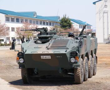 高田駐屯地記念行事 96式装輪装甲車