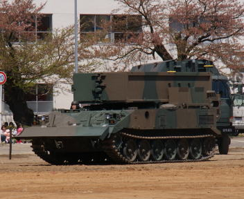 高田駐屯地記念行事 92式地雷原処理車
