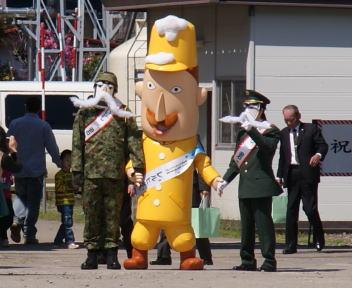 高田駐屯地記念行事 レルヒ少佐