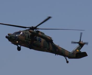 高田駐屯地記念行事 UH-60J
