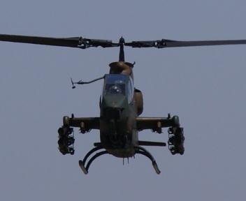 高田駐屯地記念行事 AH-1S
