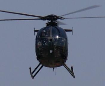高田駐屯地記念行事 OH-6