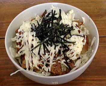 弐侍元 キャベ豚マヨ丼