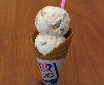 サーティワンアイスクリーム ココナッツグローブ&ハワイアンクランチ