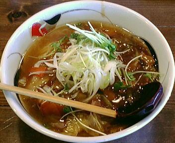 大雷神 広東麺
