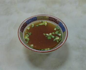 シンガポール食堂 皿オッチャホイ スープ