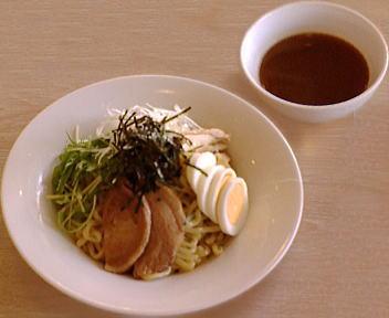 デニーズ武蔵小杉店 魚介豚骨つけ麺