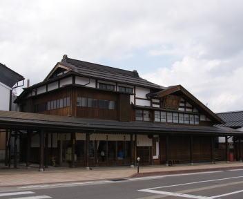 塩沢宿 青木酒造