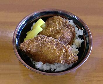 まる七 ミニタレカツ丼