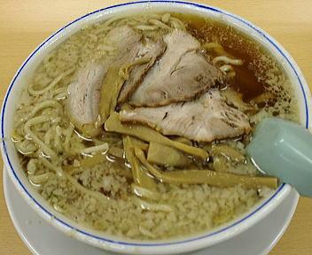 安福亭 千手店 老麺