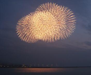 ぎおん柏崎まつり 海の大花火大会 花火