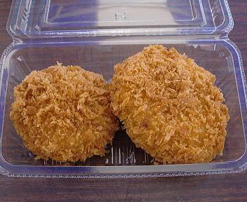 イオン B級ご当地グルメフェア 北海道男爵コロッケ(カニクリーム・チーズ)