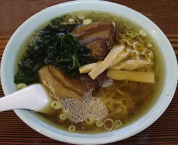 六華亭 大肉麺